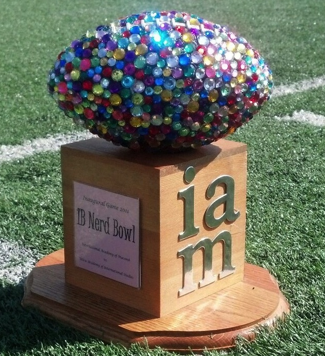 powderpuff trophy